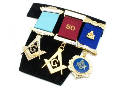 Jewel Pad for Multiple Masonic Breast Jewels