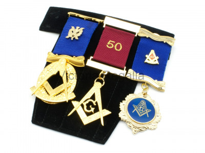 Jewel Pad for Multiple Masonic Breast Jewels