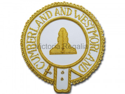 Mark Provincial Full Dress Apron Badge -English Constitution