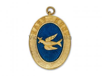 Prov. & Dist. Full Dress Set - Apron, Collar, Badge and Jewel - Lambskin - English Constitution