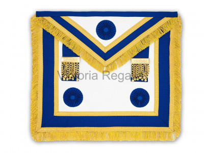 Prov. & Dist. Full Dress Apron Only with Rosettes - English Constitution