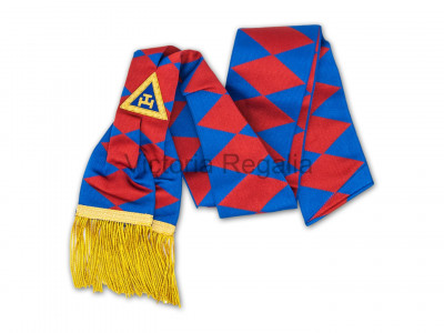 Royal Arch Provincial & District Sash - English Constitution