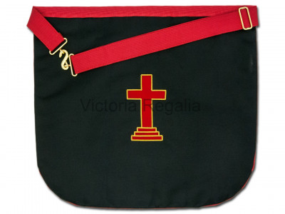 Irish Prince Masons Satin Apron -Irish Constitution