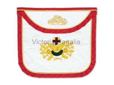 Irish Prince Masons Satin Apron -Irish Constitution
