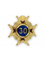 30th Degree Star jewel - English Constitution