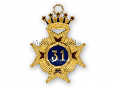 31st Degree Star jewel - English Constitution