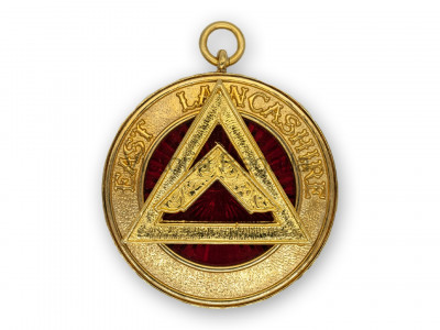 Royal Arch Provincial / District Past rank collar jewel - English Constitution