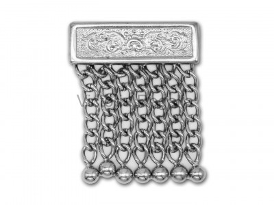 Masonic Single Tassle Silver Plated