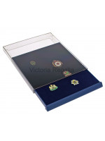 Stackable Display Tray for Masonic Pins and Breast Jewels - Small