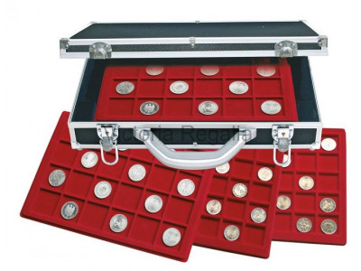Masonic Mark Tokens and Coins Hard Carry and Display Case  for Collectors