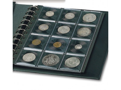 Extra Pages for Masonic Mark Token Collectors Display Album - Black