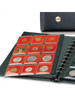 Extra Pages for Masonic Mark Token Collectors Display Album - Red