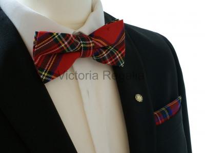 Tartan Bow Tie in Royal Stewart Tartan