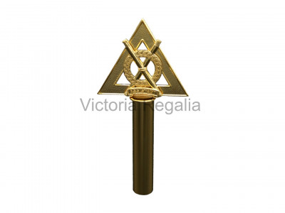 Royal Arch Officer Wand Tops - Gilt