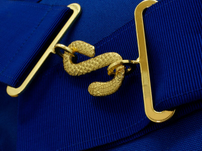 Grand Mark Full Dress Apron - Standard- English Constitution