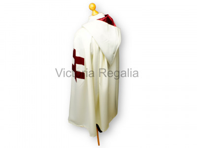 Knights Templar Preceptors Mantle - English Constitution