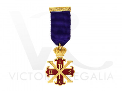 Red Cross of Constantine Viceroy Breast jewel - English Constitution
