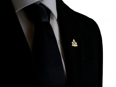 Freemasons Masonic 45 YEAR Lapel Pin