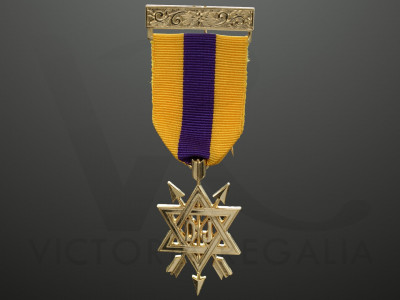 OSM 2nd Degree Breast Jewel - English Constitution