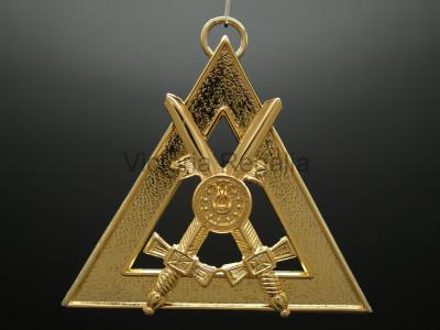Chancellor Royal Arch Office Bearers Collar Jewel - Scottish