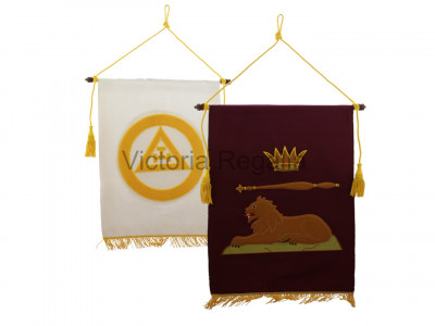 Single Large Royal Arch Chapter Banner