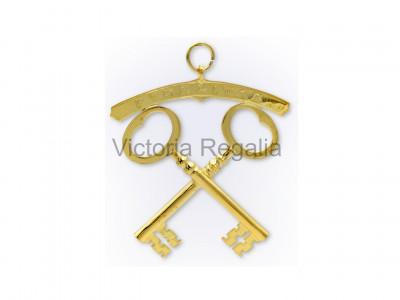 Treasurer Royal Order of Scotland Officers Collar Jewels