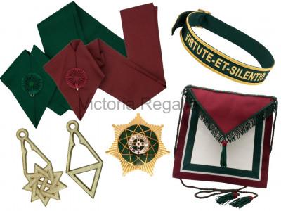 Royal Order of Scotland Members full SET of regalia - Standard or Super