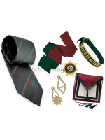Royal Order of Scotland Members full SET of regalia - Standard with ROS Tie
