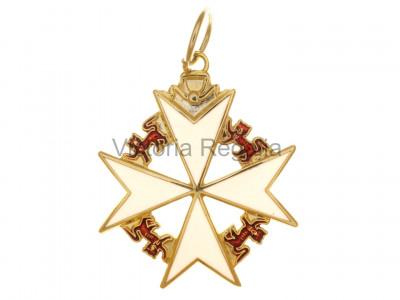 Knights of Malta Collar Jewel