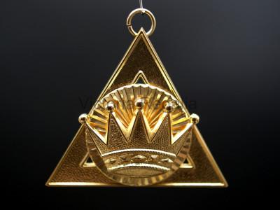 1st Principal Z Royal Arch Office Bearers Collar Jewel - Scottish