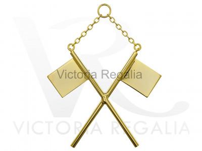 Standard Bearer Collar jewel - Scottish Constitution