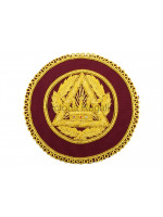Royal Arch PZ Badge Hand Embroidered with Chapter Option  - Scottish Constitution
