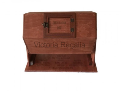 Wooden Tombola Engraved Lodge Name and Number