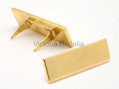 Masonic Middle Bar for Breast Jewel 30mm Gilt