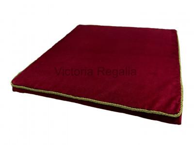 Masonic Velvet Presentation Cushion with Embroidery Options
