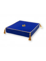 Masonic Embroidered Bible Cushion for Altar