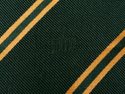 Allied Degree Silk Tie - English Constitution