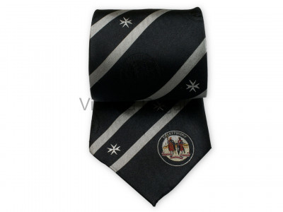Knights of Malta Great Priory Silk Tie - English Constitution