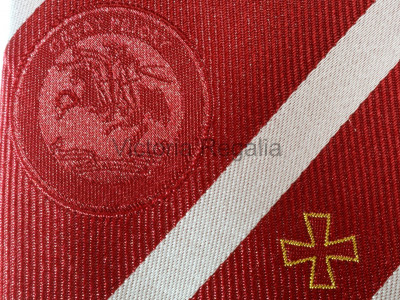 Knights Templar Great Priory Silk Tie - English Constitution