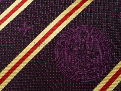 Red Cross of Constantine Silk Tie - English Constitution