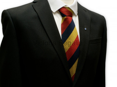 Royal and Select Masters Silk Tie - English Constitution