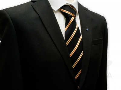 Order of the Scarlet Cord Silk Tie - English Constitution